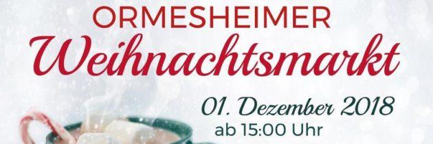 9. Ormersheimer Weihnachtsmarkt